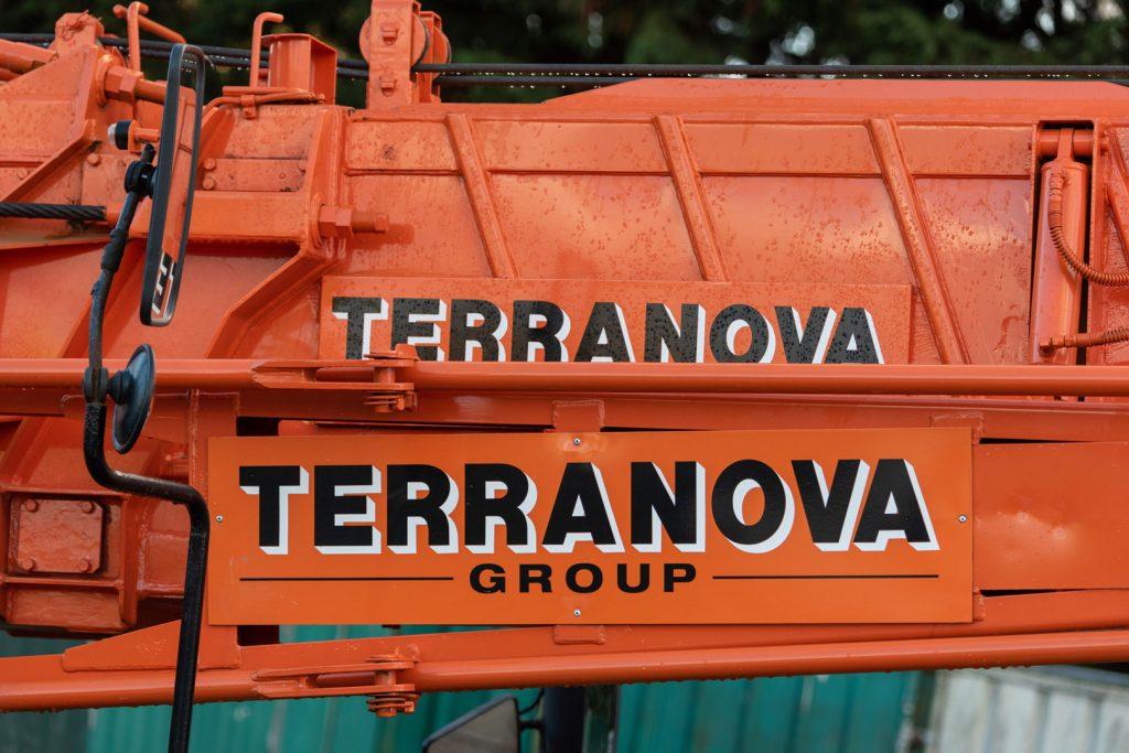 Terranova Crane Boom Arms