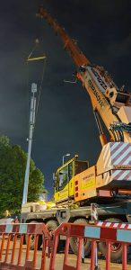Gemag-AC70 puts up 5G mast in Southampton