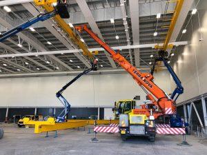 AC40 gantry crane farnborough airport