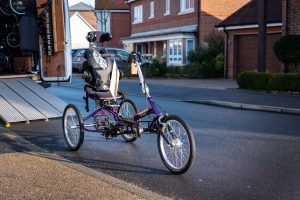 Gracie's New Customised Tomcat Trike