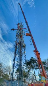 Foxhill Radio mast upgrade, Swindon