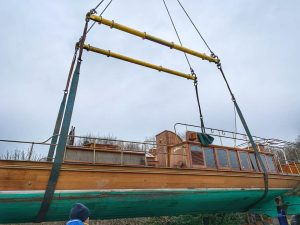 Windsor Belle, lifting rig