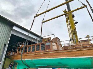 Windsor Belle, maintenance lift 2020