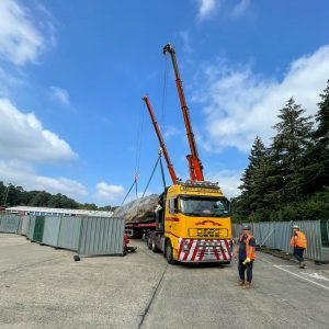 Multi-crane lift
